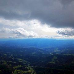 Flugwegposition um 13:01:53: Aufgenommen in der Nähe von Gemeinde Bärnbach, Österreich in 1725 Meter