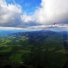 Flugwegposition um 13:30:41: Aufgenommen in der Nähe von Gemeinde Frantschach-Sankt Gertraud, Österreich in 1791 Meter