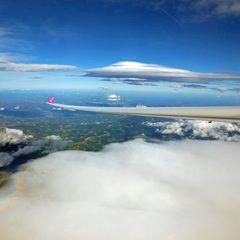 Flugwegposition um 13:35:28: Aufgenommen in der Nähe von Gemeinde Reichenfels, Reichenfels, Österreich in 4946 Meter
