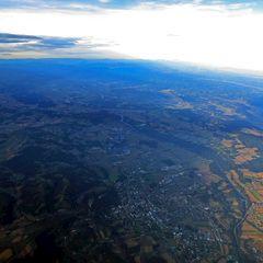 Flugwegposition um 14:49:23: Aufgenommen in der Nähe von Gemeinde Weinburg am Saßbach, Österreich in 4189 Meter
