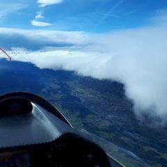 Flugwegposition um 13:31:34: Aufgenommen in der Nähe von Gemeinde Tulfes, Österreich in 4397 Meter