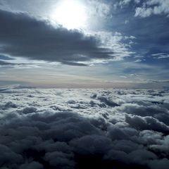 Flugwegposition um 13:45:42: Aufgenommen in der Nähe von Gemeinde Weerberg, 6133, Österreich in 4843 Meter