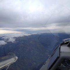 Flugwegposition um 12:37:52: Aufgenommen in der Nähe von Gemeinde St. Stefan ob Leoben, Österreich in 3151 Meter