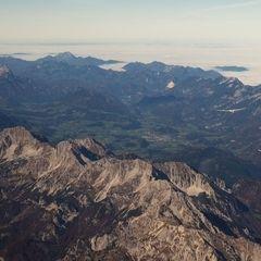 Flugwegposition um 10:13:45: Aufgenommen in der Nähe von Weng im Gesäuse, 8913, Österreich in 4432 Meter