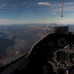 Flugwegposition um 10:15:05: Aufgenommen in der Nähe von Weng im Gesäuse, 8913, Österreich in 4430 Meter