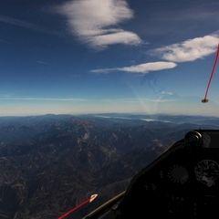 Flugwegposition um 10:19:32: Aufgenommen in der Nähe von Radmer, 8795, Österreich in 4455 Meter