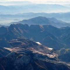 Flugwegposition um 11:25:24: Aufgenommen in der Nähe von Landl, Österreich in 4206 Meter