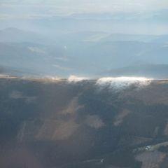 Flugwegposition um 15:35:08: Aufgenommen in der Nähe von Gemeinde Aspangberg-Sankt Peter, Österreich in 2523 Meter