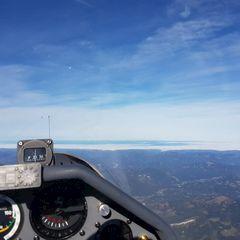 Flugwegposition um 09:25:46: Aufgenommen in der Nähe von Gemeinde Schwarzau im Gebirge, Österreich in 2984 Meter