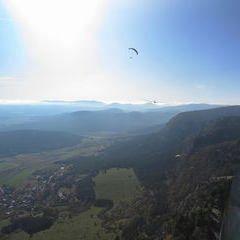 Flugwegposition um 12:15:47: Aufgenommen in der Nähe von Gemeinde Reichenau an der Rax, Österreich in 1376 Meter