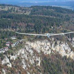 Flugwegposition um 12:23:50: Aufgenommen in der Nähe von Gemeinde Reichenau an der Rax, Österreich in 1170 Meter