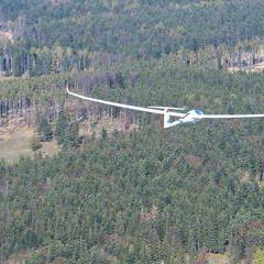 Flugwegposition um 12:23:56: Aufgenommen in der Nähe von Gemeinde Reichenau an der Rax, Österreich in 1170 Meter