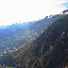 Flugwegposition um 13:34:33: Aufgenommen in der Nähe von Gemeinde Höflein an der Hohen Wand, Österreich in 934 Meter