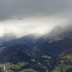 Flugwegposition um 11:25:25: Aufgenommen in der Nähe von Gemeinde Pfarrwerfen, Pfarrwerfen, Österreich in 2982 Meter