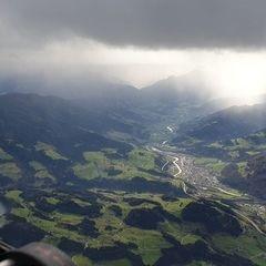 Flugwegposition um 11:24:40: Aufgenommen in der Nähe von Gemeinde Werfenweng, 5453, Österreich in 2954 Meter