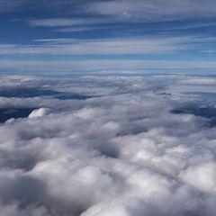Flugwegposition um 13:24:14: Aufgenommen in der Nähe von Gemeinde Obertraun, Obertraun, Österreich in 5191 Meter