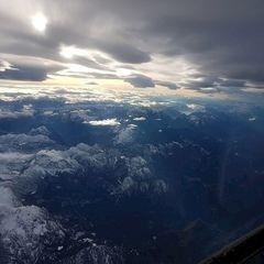Flugwegposition um 14:08:54: Aufgenommen in der Nähe von Gußwerk, Österreich in 4566 Meter