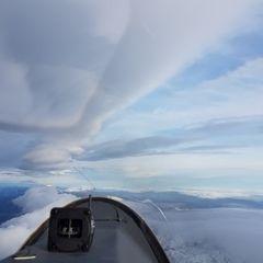 Flugwegposition um 14:16:48: Aufgenommen in der Nähe von Gemeinde Wildalpen, 8924, Österreich in 3773 Meter