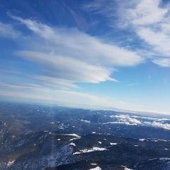 Verortung via Georeferenzierung der Kamera: Aufgenommen in der Nähe von Gemeinde Schwarzau im Gebirge, Österreich in 2600 Meter