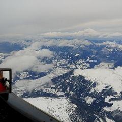 Flugwegposition um 10:32:27: Aufgenommen in der Nähe von Stummerberg, 6276 Stummerberg, Österreich in 4355 Meter