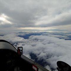 Verortung via Georeferenzierung der Kamera: Aufgenommen in der Nähe von St. Anton an der Jeßnitz, Österreich in 4600 Meter