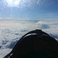 Flugwegposition um 11:39:30: Aufgenommen in der Nähe von Gemeinde St. Aegyd am Neuwalde, Österreich in 6967 Meter