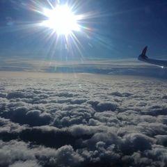 Flugwegposition um 13:20:14: Aufgenommen in der Nähe von Gemeinde Schwarzau im Gebirge, Österreich in 3948 Meter