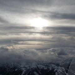 Flugwegposition um 13:21:10: Aufgenommen in der Nähe von Gemeinde Ramsau am Dachstein, 8972, Österreich in 2660 Meter