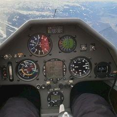 Flugwegposition um 13:21:15: Aufgenommen in der Nähe von Gemeinde Ramsau am Dachstein, 8972, Österreich in 2666 Meter