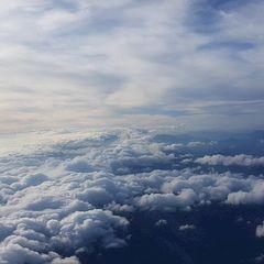Flugwegposition um 12:52:02: Aufgenommen in der Nähe von Gemeinde Schwarzau im Gebirge, Österreich in 3518 Meter