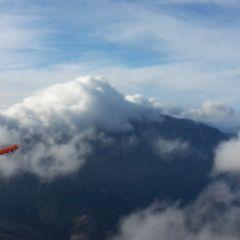 Flugwegposition um 10:47:13: Aufgenommen in der Nähe von Gemeinde Puchberg am Schneeberg, Österreich in 2005 Meter