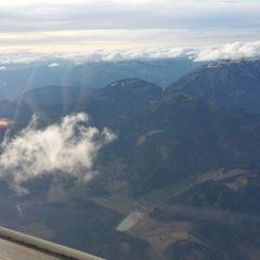 Flugwegposition um 12:56:11: Aufgenommen in der Nähe von Gemeinde Puchberg am Schneeberg, Österreich in 2108 Meter