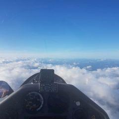 Flugwegposition um 09:41:24: Aufgenommen in der Nähe von Gemeinde St. Aegyd am Neuwalde, Österreich in 3334 Meter
