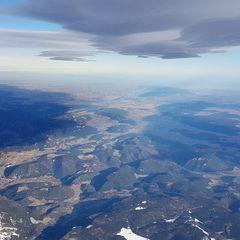 Verortung via Georeferenzierung der Kamera: Aufgenommen in der Nähe von Gemeinde Reichenau an der Rax, Österreich in 4800 Meter
