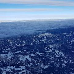 Flugwegposition um 13:34:41: Aufgenommen in der Nähe von Gußwerk, Österreich in 4527 Meter