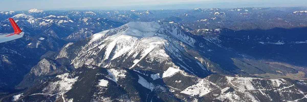 Verortung via Georeferenzierung der Kamera: Aufgenommen in der Nähe von Gemeinde Bürg-Vöstenhof, 2630, Österreich in 2800 Meter