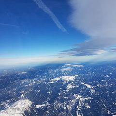 Flugwegposition um 11:49:53: Aufgenommen in der Nähe von Gemeinde Thörl, Österreich in 5175 Meter