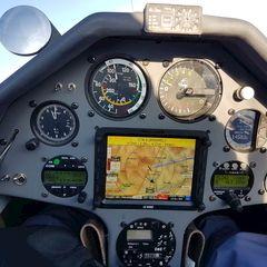Flugwegposition um 14:31:04: Aufgenommen in der Nähe von Veitsch, St. Barbara im Mürztal, Österreich in 4310 Meter