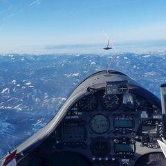 Verortung via Georeferenzierung der Kamera: Aufgenommen in der Nähe von Gemeinde Puchberg am Schneeberg, Österreich in 3500 Meter