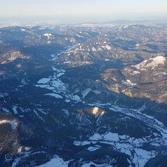 Verortung via Georeferenzierung der Kamera: Aufgenommen in der Nähe von Gemeinde Schwarzau im Gebirge, Österreich in 2700 Meter