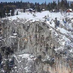 Verortung via Georeferenzierung der Kamera: Aufgenommen in der Nähe von Gemeinde Höflein an der Hohen Wand, Österreich in 1100 Meter