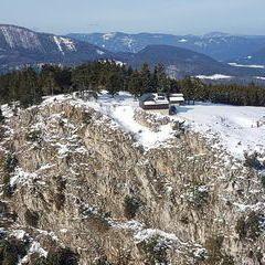 Verortung via Georeferenzierung der Kamera: Aufgenommen in der Nähe von Gemeinde Grünbach am Schneeberg, 2733, Österreich in 0 Meter