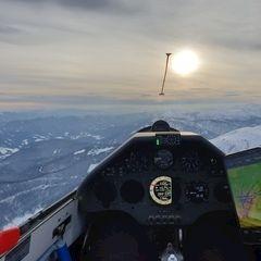 Verortung via Georeferenzierung der Kamera: Aufgenommen in der Nähe von Gemeinde Puchberg am Schneeberg, Österreich in 2400 Meter