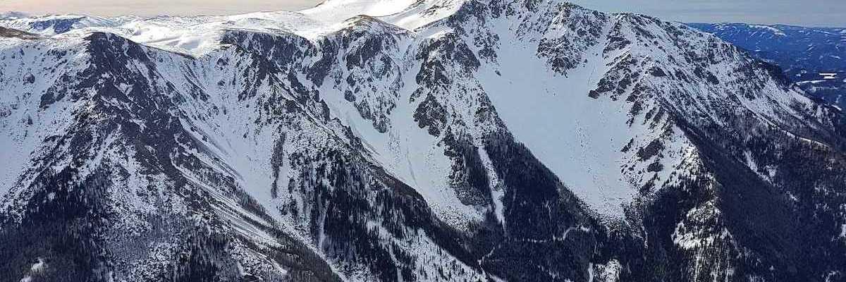 Verortung via Georeferenzierung der Kamera: Aufgenommen in der Nähe von Gemeinde Puchberg am Schneeberg, Österreich in 2000 Meter