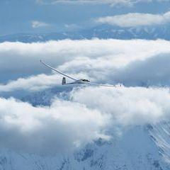 Flugwegposition um 14:09:42: Aufgenommen in der Nähe von Gemeinde Wildalpen, 8924, Österreich in 3446 Meter