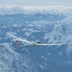 Flugwegposition um 14:11:59: Aufgenommen in der Nähe von Gemeinde Wildalpen, 8924, Österreich in 3379 Meter