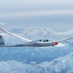 Flugwegposition um 14:12:10: Aufgenommen in der Nähe von Gemeinde Wildalpen, 8924, Österreich in 3347 Meter