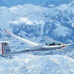 Flugwegposition um 14:12:17: Aufgenommen in der Nähe von Gemeinde Wildalpen, 8924, Österreich in 3347 Meter
