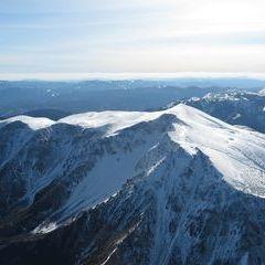 Flugwegposition um 12:42:38: Aufgenommen in der Nähe von Gemeinde Reichenau an der Rax, Österreich in 2391 Meter