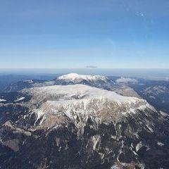 Flugwegposition um 14:36:36: Aufgenommen in der Nähe von Altenberg an der Rax, Österreich in 2797 Meter